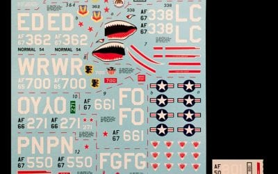 Detail & Scale review- Werner's Wings Decals # 48-013 Vietnam Ace Capt. Steve Richie and Friends — 1:48 Scale