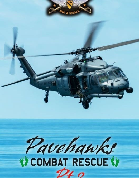 January, 2020: New Decal Sheet Stock #WW 35-11 Pavehawk- Combat Rescue Pt. 2